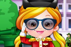 Хейзел Офицер - Baby Hazel Defense Officer Dress Up