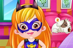 Хейзел Супергерл - Baby Hazel Supergirl Dress Up