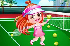 Хейзел Теннисистка - Baby Hazel Tennis Player DressUp