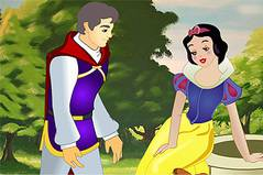 Белоснежка и Принц - Princess Snowwhite Kissing Prince