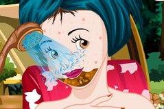 Целебный Макияж - Snow White Facial Makeover