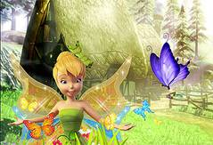 Фея Динь Динь Украшает Сад - Tinkerbell Garden Decor