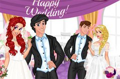 Двойная Свадьба - Disney Princesses Double Wedding
