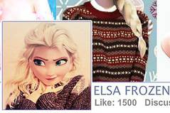 Фейсбук Эльзы - Elsa Facebook Fashion Blogger