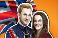 Кейт и Вильям - Kate and William Dressup