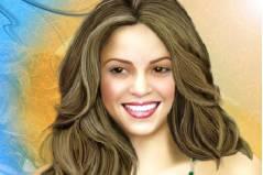 Макияж для Шакиры 2 - Shakira 2 makeup