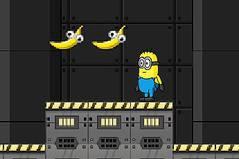 Игры для девочек миньоны собирать бананы