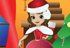 Новый Год Софии - Sofia The First Christmas Dress Up