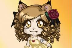 Одевалка Девочки Кошки