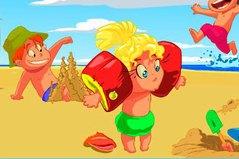 Найди Отличия На Пляже