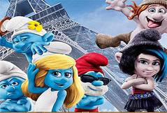 Пазл Смурфики 2 - The Smurfs 2 Puzzle