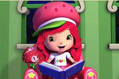 Пазлы с Шарлоттой - Strawberry Shortcake: Rotate Puzzle