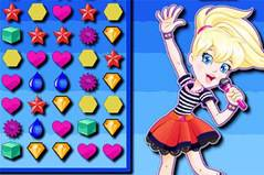 Полли Покет: Три в Ряд - Gems Polly Pocket