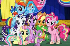 Пони в Цирке - My Little Pony Circus Fun