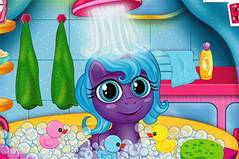Пони в Ванной - Baby My Little Pony Bath