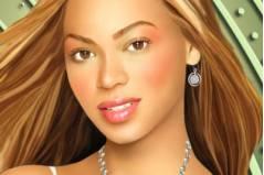 Придумай красивый макияж Бейонсе - Beyonce Noulz 2