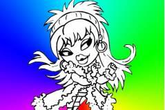 Раскраска Братц 6 - Bratz Coloring 6