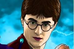 Раскраска Гарри Поттера - Harry Potter Coloring
