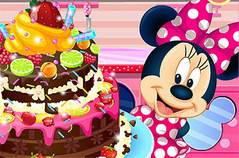 Торт Минни - Minnie Mouse Chocolate Cake