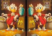 Скрудж Макдак - Spot The Difference Scrooge McDuck