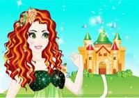 Принцесса Мерида - Merida Facial Makeover