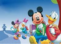 Микки Идет в Школу - Mickey School