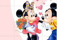 Развлечения с Микки - Mickey Puzzle Fun