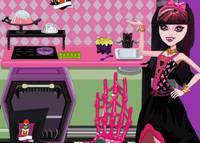 Уборка на Кухне - Monster High Kitchen Wash