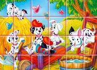 Пазлы 101 Далматинец - 101 Dalmatians: Rotate Puzzle