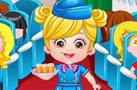 Хейзел Стюардесса - Baby Hazel Air Hostess Dress Up