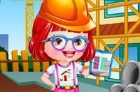 Хейзел Архитектор - Baby Hazel Architect Dressup
