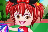 Хейзел Черлидерша - Baby Hazel Cheerleader Dress Up