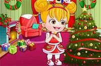 Рождество Хейзел - Baby Hazel Christmas Dressup