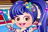 Гимнастка Хейзел - Baby Hazel Gymnast Dress Up