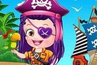 Хейзел Пират - Baby Hazel Pirates Dressup