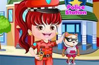 Хейзел Полицейский - Baby Hazel Police Dressup