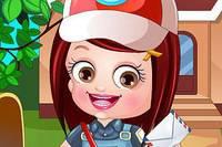 Хейзел Почтальон - Baby Hazel Postwoman Dress Up