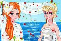 Невеста Анна - Princess Anna Bridemaid Makeover
