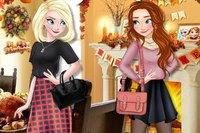 Благодарения Принцесс - Princesses Thanksgiving Day
