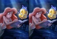 Ариэль: Поиск Отличий - The Little Mermaid