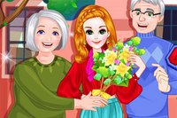 Бабушка и Дедушка - Visiting Grandparents