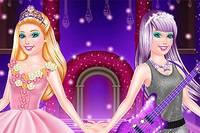Барби и Поп-Принцесса - Barbie Princess vs Popstar