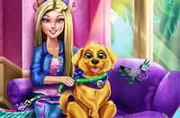 Барби Обучает Щенка - Barbie Puppy Potty Training