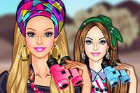 Барби в Африке - Barbie Travels To Africa