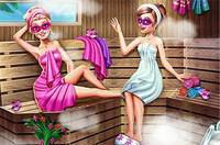 Барби в Сауне - Super Barbie Sauna Realife