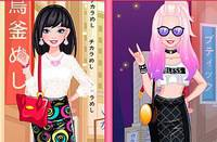Образы для Барби 2 - Barbie Tokyo Kawaii vs Street