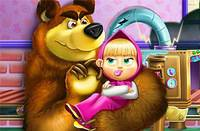 Беда с Игрушками - Masha And Bear Toys Disaster
