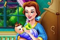 Белль Кормит Малыша - Belle Baby Feeding