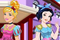 Две Принцессы - Cinderella and Snow White Matching Outfits