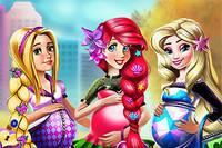 Беременные Принцессы - Disney Pregnant Fashion